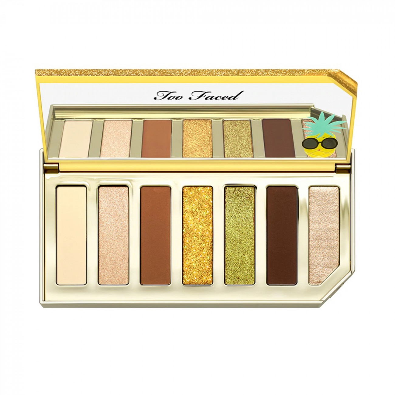 Paleta De Sombras Too Faced Sparkling Pineapple